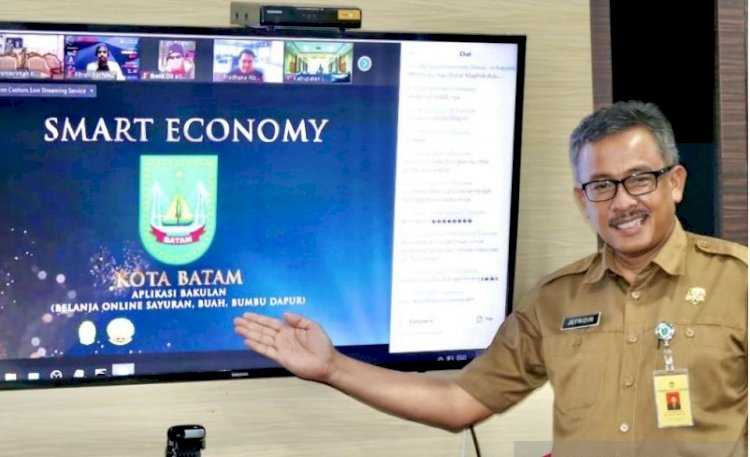 Batam Raih Dua Penghargaan Indonesian Smart Nation Award