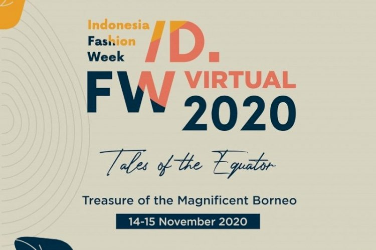 Indonesia Fashion Week 2020 Bakal Digelar Virtual Pada 14-15 November Mendatang